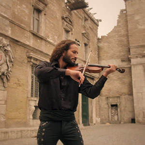 """Cheers"" – Habib Alberto, violinist (Lebanon) Music Video (2014)"