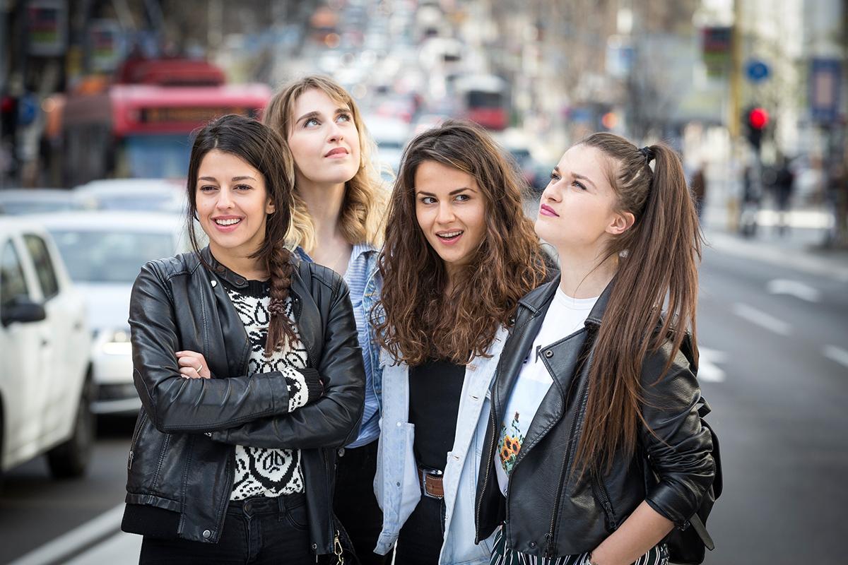Preživeti Beograd - glavne glumice